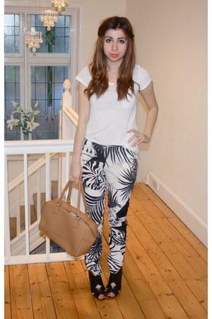 Stella McCartney pants - Topshop bag - Miu Miu heels