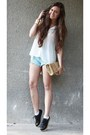 Black-creepers-romwe-shoes-ivory-chiffon-stradivarius-shirt