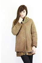 Vintage 70's Sheepskin Shearling Jacket