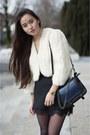 Black-platforms-mango-shoes-white-bolero-la-robe-de-mes-rêves-jacket