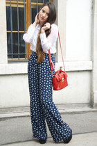 H&M shirt - 31 Phillip Lim bag - Soon Lee pants