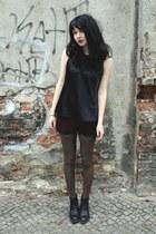 black vagabond boots