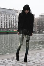 dark green lovely sally leggings