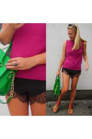 green Michael Kors bag