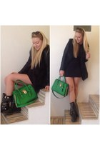 green Michael Kors bag
