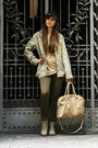 Cream-h-m-boots-olive-green-terranova-leggings-cream-sh-bag