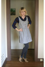 Navy-target-shirt-tan-forever-21-shoes-heather-gray-urban-outfitters-dress