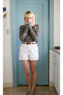Black-j-crew-sweater-crimson-forever21-shoes-white-gap-shorts