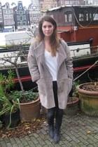 H&M Trend jacket - Topshop boots - H&M jeans