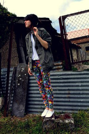 H&M leggings - Fripe jacket
