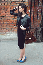 Zara jacket - River Island bag - Aldo heels