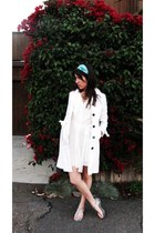 Be Cool coat - very J dress - Studio 1220 sandals