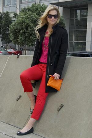 Shoshanna jacket - Zara sweater - H&M pants