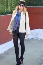 Jessica Simpson shoes - banana republic coat - asos shorts