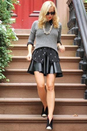 Zara shoes - asos shirt - Forever 21 skirt