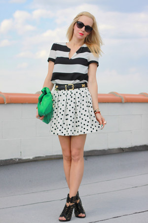 foley & corinna bag - Dolce Vita shoes - Zara shirt - Zara skirt