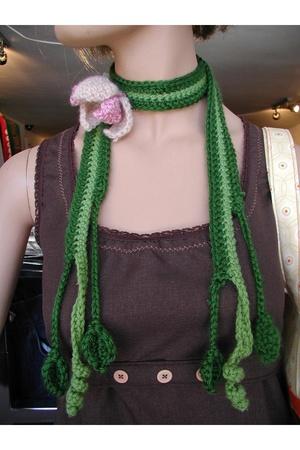 Stray scarf - Sue Bradbury dress