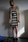 Beige-h-m-jacket-black-h-m-dress-black-zara-shoes-black-mango-sunglasses-