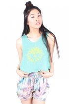Rainbow Dream Knitted Tank