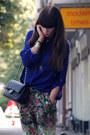 Chanel-bag-h-m-blouse-topshop-pants-vintage-necklace