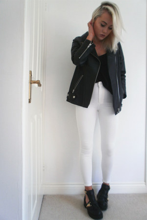 leather H&M jacket