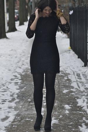 Diane Von Furstenberg dress - Anthropologie bracelet