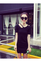 Korean Style Irregularity Show Thin Dress