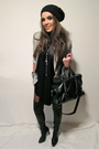 Black-just-female-top-silver-zara-blazer-black-zara-boots-black-zara-purse