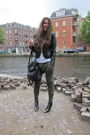 Green-zara-pants-black-h-m-boots-black-supertrash-jacket-white-h-m-top