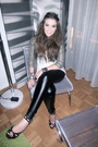 Gold-topshop-blazer-beige-urban-outfitters-top-black-topshop-pants-black-j