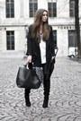 Black-overknee-boots-black-zara-coat-white-t-shirt-black-leather-pants