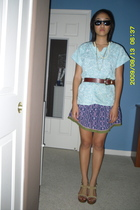 Old Navy skirt - American Eagle shoes - Kenneth Cole belt - Ray bans sunglasses