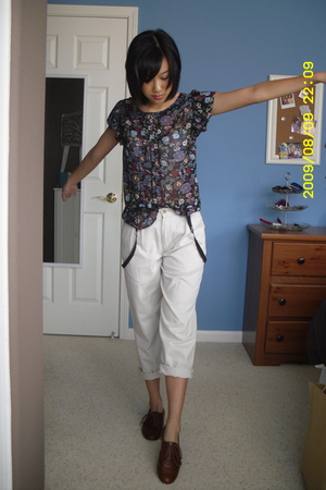 Target top - Calvin Klein boys pants - Steve Madden shoes - Hot Topic accessorie