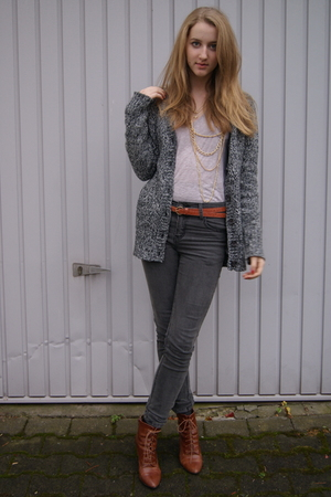Zara jacket - Zara shirt - H&amp;M shoes - Primark belt - Cheap Monday jeans