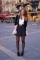 Kate Moss for Topshop shirt - American Apparel skirt - River Island tights - Zar