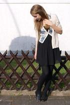 Zara jacket - H&M jacket - Urban Outfitters dress - Zara shoes