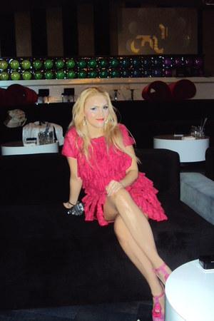 lace Camelicious dress - letaher Irregular Choice heels