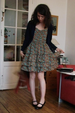 vest - Primark dress - Laura Coste shoes