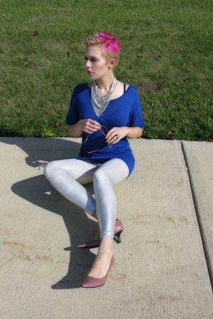 Lux top - American Apparel leggings - Madeline shorts