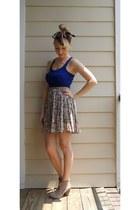 Cream-vintage-skirt