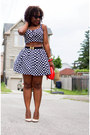 Red-aldo-bag-forever21-skirt-forever21-top