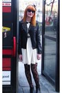Black-chelsea-vintage-from-ebay-boots-ivory-vero-moda-dress