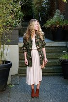 army green cargo asos jacket