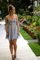 sky blue floral For Love Or Lemons dress