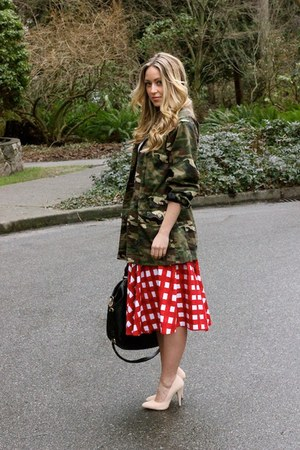 red camo asos jacket