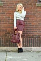 Tinley Road skirt - Michael Stars sweater - Michael Kors bag - Aldo pumps