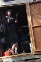 Victorias Secret dress - Urbanogcom shoes - Plume a local store in Denver gloves