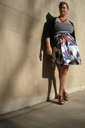 simply vera wang skirt - Old Navy shirt - kohls swimwear - Frye shoes - Anthropo
