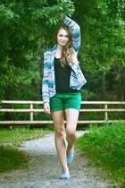 Reporter jacket - Diverse shoes - Top Secret shorts