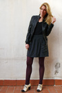 Black-zara-jacket-gray-american-apparel-skirt-black-lna-t-shirt-white-camp